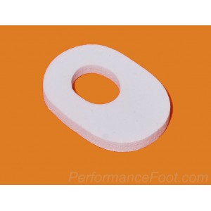 Oval Callus Pad - 1/8 inch Foam (Pack of 20)