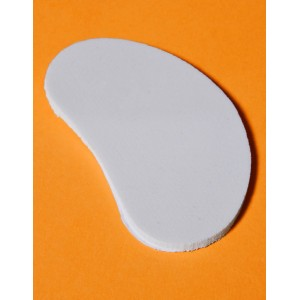 Kidney Shaped Pad - 1/4 inch Foam